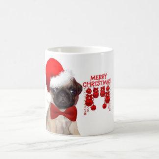 Pug Christmas Coffe Mug