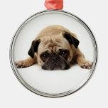 Pug Christmas Ornament 2