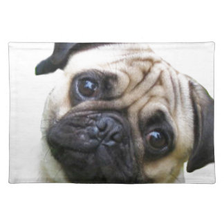 pug cloth placemat