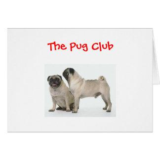 Pug Club Card