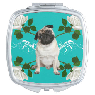 Pug Compact Compact Mirrors