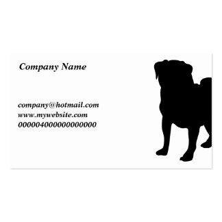 Pug Company Name Business Card Template