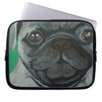 Pug Computer Sleeve
