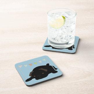 Pug Drink Coasters