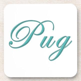 Pug Drink Coaster
