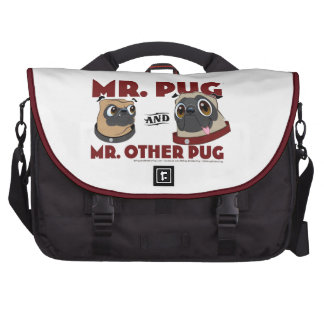 Pug Crap Laptop Bag