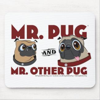 Pug Crap Mouse Pad