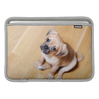 Pug Cross Cavalier King Charles Spaniel MacBook Air Sleeves