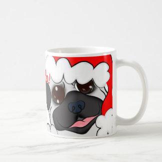 Pug cup Pug dog coffee Christmas Christmas
