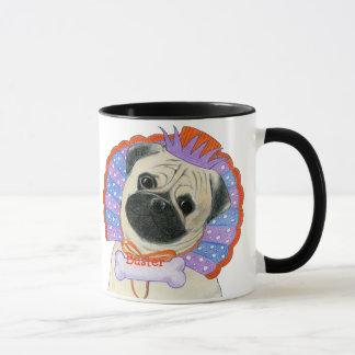Pug Customizable Name Mug