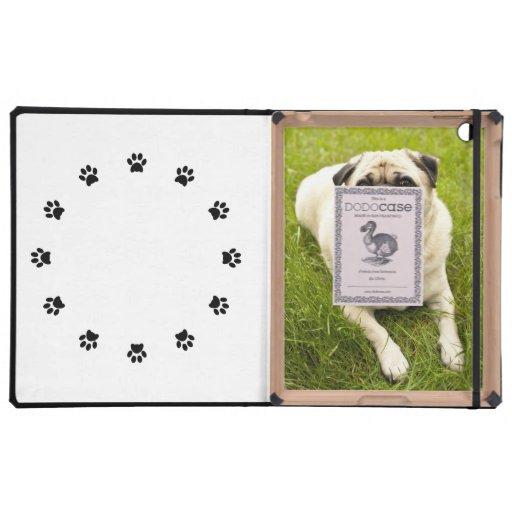 Pug cute dog beautiful photo custom gift covers for iPad