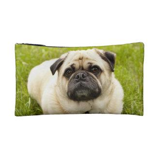 Pug cute dog beautiful photo, gift cosmetic bag