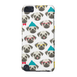 Case-Mate Barely There 5th Generation iPod Touch Case with Pug Phone Cases design