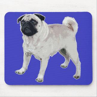 Pug cutie mouse pad