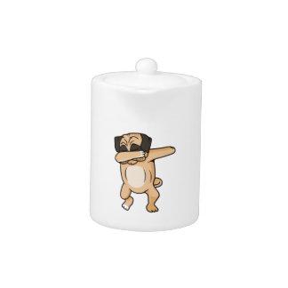 Pug Dab Teapot