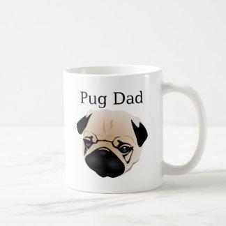 Pug Dad 1 Classic White Coffee Mug