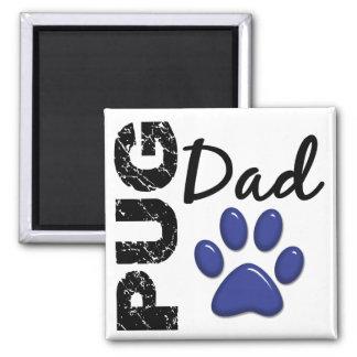 Pug Dad 2 Magnet