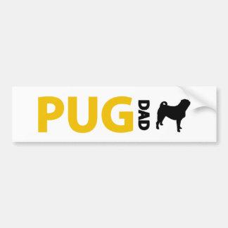 Pug Dad Bumper Stickers