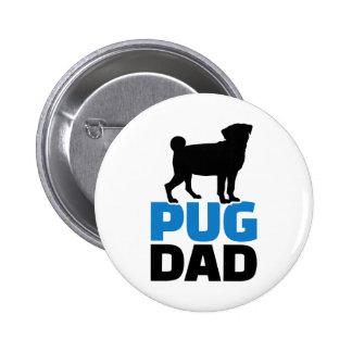 Pug Dad Pin