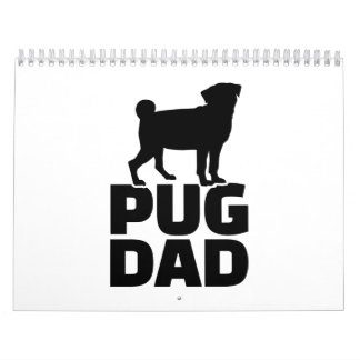 Pug Dad Calendar
