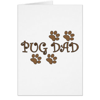 Pug Dad Greeting Cards