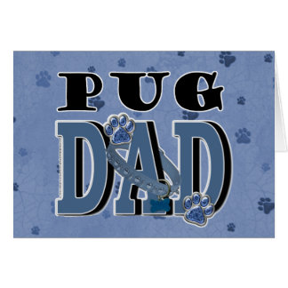 Pug DAD Card