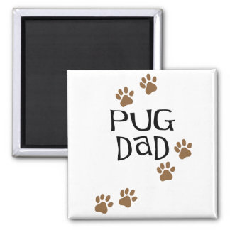 Pug Dad Magnets