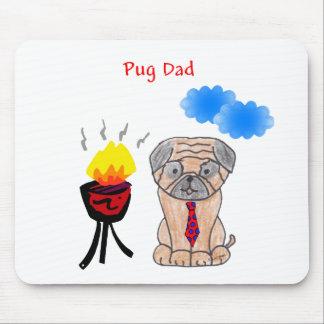 Pug Dad Mousepad