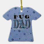 Pug DAD Ornament