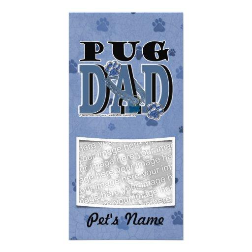 Pug DAD Photo Card