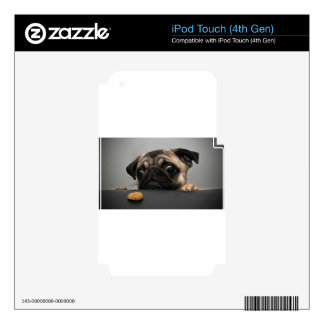 Pug Decals For iPod Touch 4G