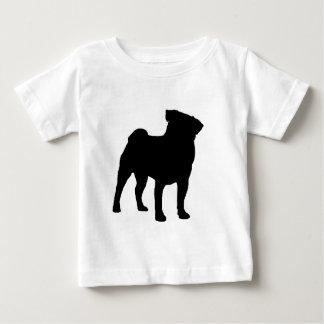 pug Design Caroline howlett design Baby T-Shirt