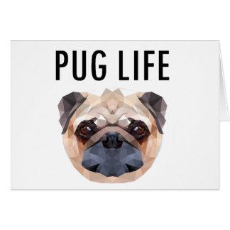 Pug Design Dog Unique Card