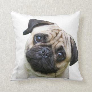 """""""Pug"""" design throw pillows"""
