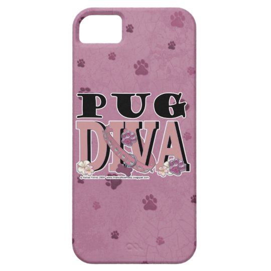 Pug DIVA iPhone SE/5/5s Case