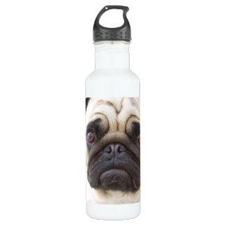 Pug Dog 24oz Water Bottle