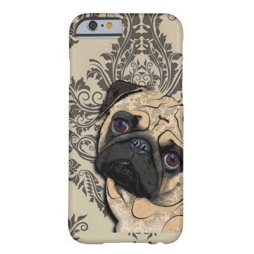 Pug Dog Abstract Pet Pattern iPhone 6 Case