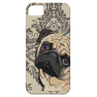 Pug Dog Abstract Pet Pattern Print iPhone 5 Covers