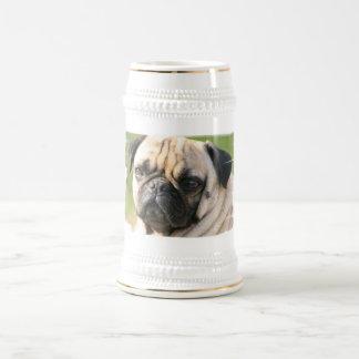 Pug Dog Breed  Beer Stein 18 Oz Beer Stein