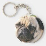Pug Dog Breed  Keychain