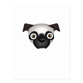 Pug Dog Breed - My Dog Oasis Postcard