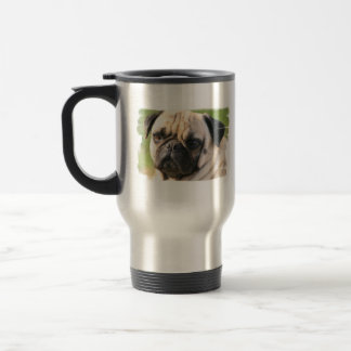 Pug Dog Breed Travel Mug