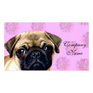 Pug dog Double-Sided standard business cards (Pack of 100)