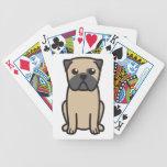 Pug Dog Cartoon Card Decks
