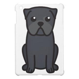 Pug Dog Cartoon iPad Mini Cases
