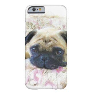 Pug dog barely there iPhone 6 case