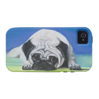 Pug Dog Case-Mate Case Tough Iphone 4 Vibe iPhone 4 Case