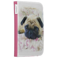 Pug dog cases for kindle