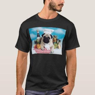 Pug Dog Chef T-Shirt