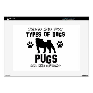 Pug dog Designs Decal For Laptop